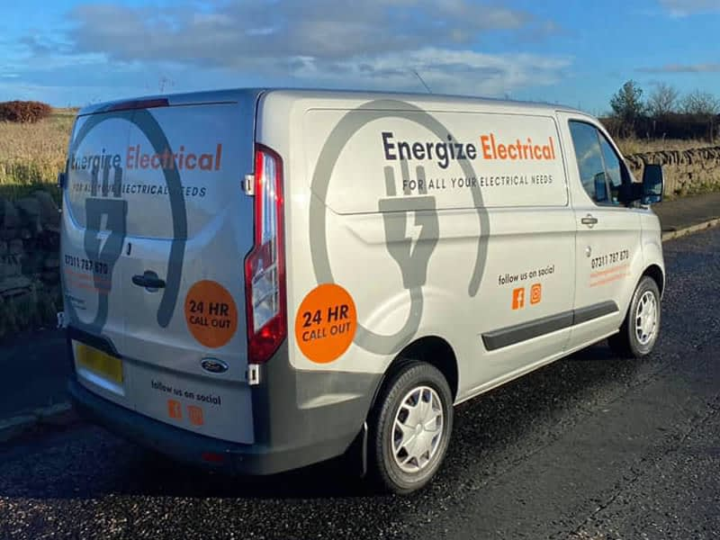 Energize Electrical Van, Edinburgh Electrician